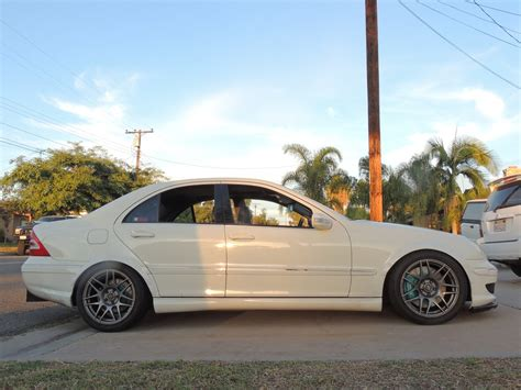 Wide Body Kits for a 2007 Mercedes C230