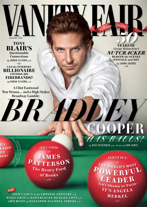 Vanity Fair by Bradley Cooper Vanity Fair Cover Vanity Fair