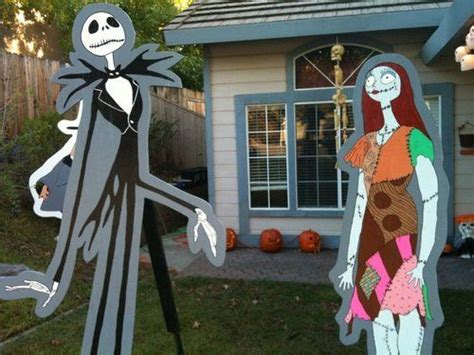 nightmare before christmas yard decorations decorating ideas