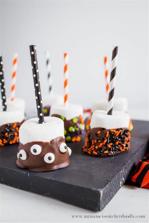 halloween treats marshmallow pops landeelucom