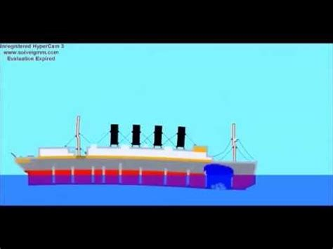rms lusitania real time sinking 100th anniversary youtube