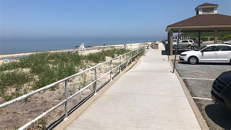 trash compactor cell towers coming  riverhead beaches abc  york