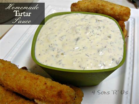 Homemade Tartar Sauce 4 Sons R Us
