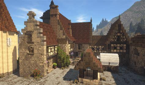 rich medieval vineyard minecraft building