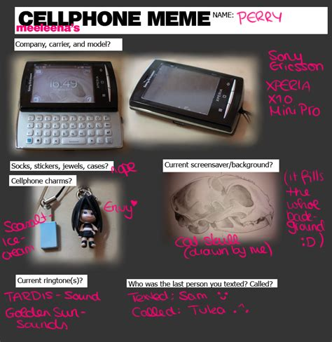 Cellphone Meme - cellphone meme by hykari on deviantart