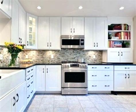 While stainless steel is undoubtedly the most popular appliance finish for a kitchen, black. Discount Stock Kitchen Cabinets