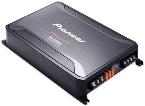 Pioneer 2400w Car Audio Mono Car Amplifier With Bass