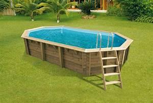 Piscine Hors Sol Bois Rectangulaire : piscine hors sol ou piscine enterr e que choisir ~ Dailycaller-alerts.com Idées de Décoration