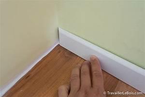 comment poser des plinthes travailler le bois With poser des plinthes de parquet