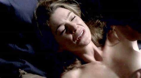 Ellen Pompeo Hot Sex Scene From Greys Anatomy Scandal