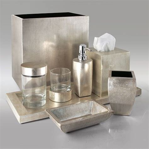 Modern Bath Accessories Collections by Gail Deloach Bath Accessories Gail Deloach Lacquer