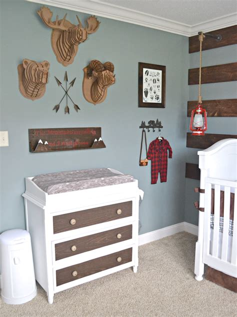 Nursery Chest Of Drawers by Fawn Over Baby Rustic Alaska Inspired Nursery For Our