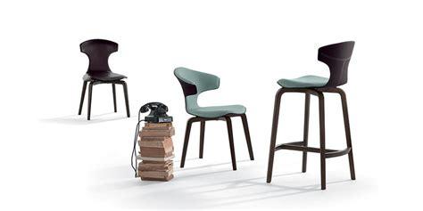 Counter Stool By Poltrona Frau Design Roberto