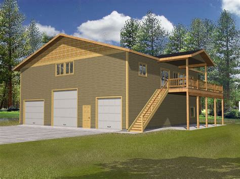 rv garage with apartment plan 012g 0098 garage plans and garage blue prints from