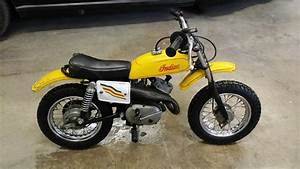 Teach Your Kids To Ride! 1969 Indian M5A Italjet  Indian