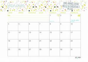 Calendrier Par Mois : calendrier mensuel 2016 imprimer par pinterest votre ~ Dallasstarsshop.com Idées de Décoration