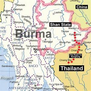 Onward To Kengtung In Shan State  U22c6 My Thailand