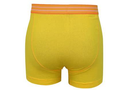 Mens Boxer Shorts Crosshatch Fireglow Bight Colours