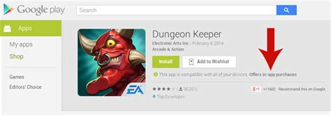 Google Adds Indicator For Inapp Purchases To Its Play