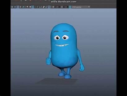 Maya Cartoon Character Behance Lynda Animating Course