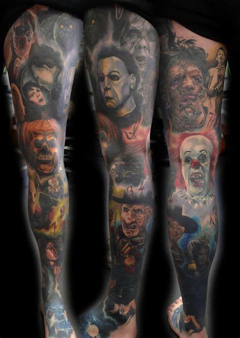 horror tattoos   fear   tattoo life