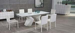 Table A Manger Blanche : offres discount sur nos tables design ~ Preciouscoupons.com Idées de Décoration