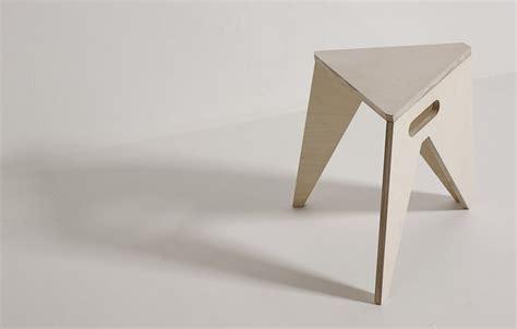simple stool   save  storage space slim