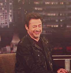 Robert Downey Jr Laughing GIF - Find & Share on GIPHY