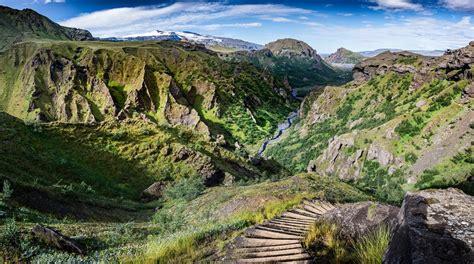 Laugavegur Trail And Fimmvorduhals Volcano Hike Trek Iceland
