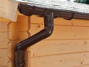 Dachrinnen Kunststoff Für Gartenhaus : dachrinnen komplett mit rinnenstutzen b gen und fallrohr kunststoff dachrinnen braun ~ Eleganceandgraceweddings.com Haus und Dekorationen