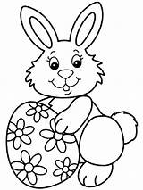 Easter Bunny Coloring Pages Printable sketch template