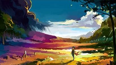 Landscape Fantasy Nature Scenery Artwork Desktop Backgrounds