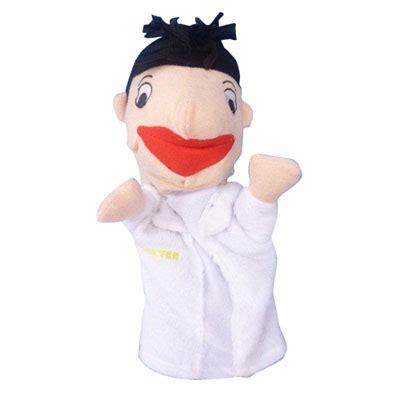 Boneka Jari Keluarga boneka tangan keluarga umum mainan kayu