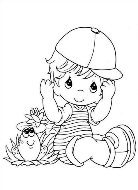 gacha life coloring pages black  white book baby boy page precious moments police station