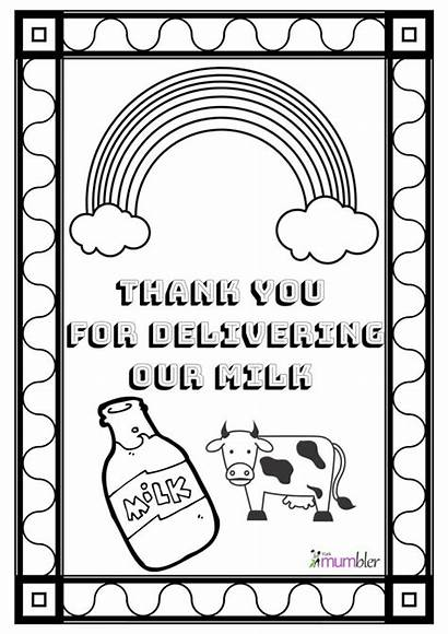 Thank Colouring Key Mumbler Workers Sheets Worker