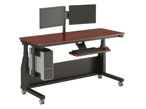 Office Desk On Wheels by Desk On Wheels Officeenvy