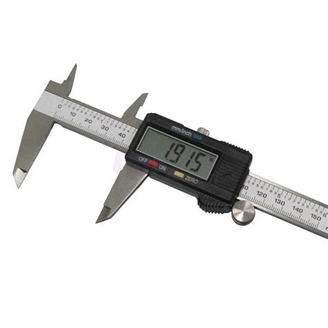 vernier caliper 150mm 6inch lcd digital electronic vernier caliper micrometer ruler ebay