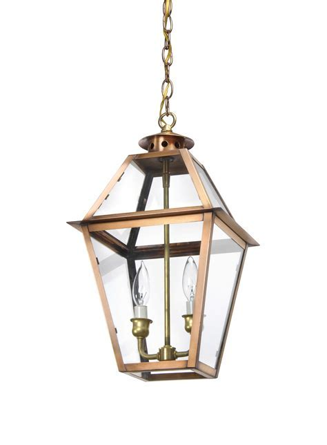 Charleston Collection   CH 26 Hanging Copper Light