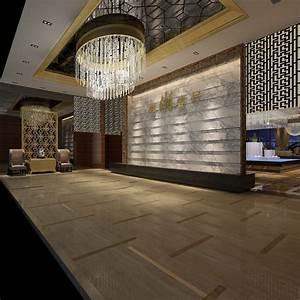 Modern Lobby Interior 3D Model .max - CGTrader.com