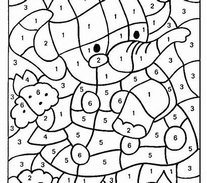 Number Coloring Pages Numbers Cool Adults Printable