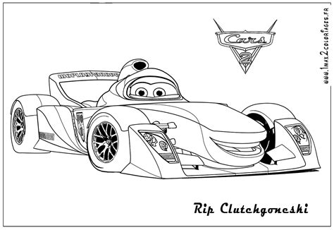 dessins de coloriage automobile  imprimer