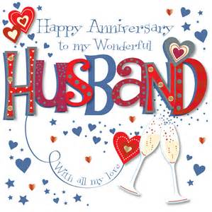 5th wedding anniversary gifts wonderful husband happy anniversary greeting card cards kates