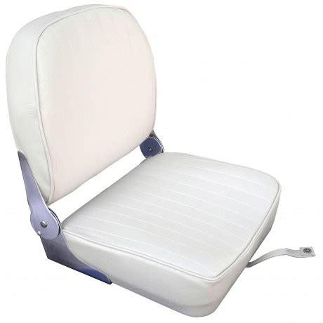 siege bateau rabattable osculati siège pilote bateau à coussin vinyle blanc