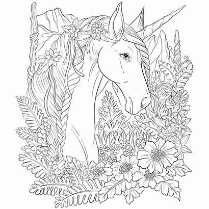 Unicorn Coloring Pages Always Yourself
