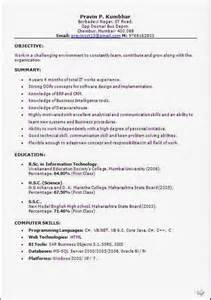 resume format for the post of cabin crew format of resume for cabin crew freshers weddingsbyesther