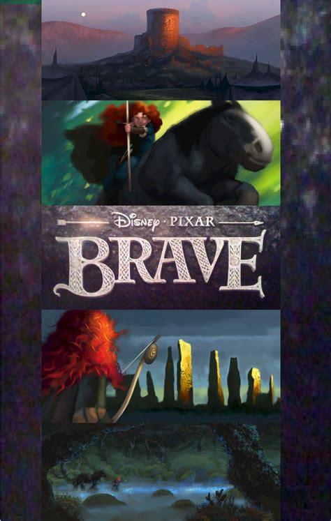 A113Animation: Brave Concept Art Poster