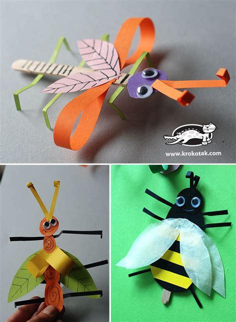 krokotak bugs  ice cream wooden sticks