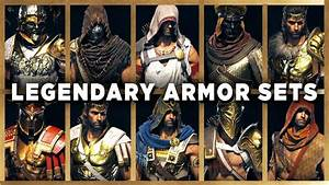 Assassin's Creed Odyssey - All LEGENDARY ARMOR Sets ...