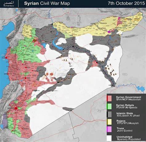 die wahre aktuelle lage  syrien