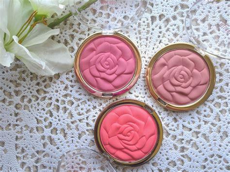 product review milani rose powder blushes blossom blush